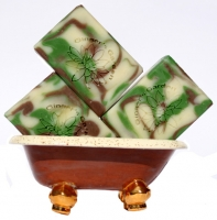 Handmade Soap Cinnamon Apple Cloves Orange Peel Spices