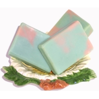 Handmade Soap Cucumber Melon Shea Butter