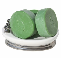 Green Irish Tweed Type Handmade Artisan Soap