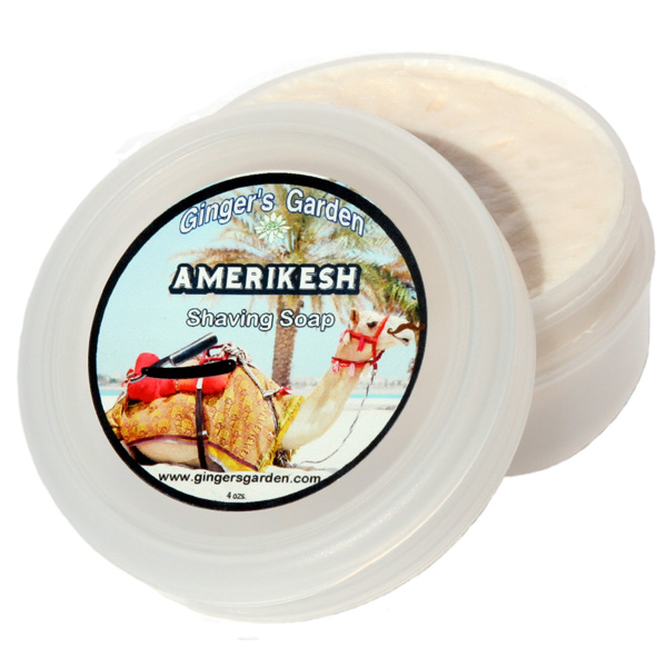 Amerikesh Vegan Natural Artisan Shaving Soap