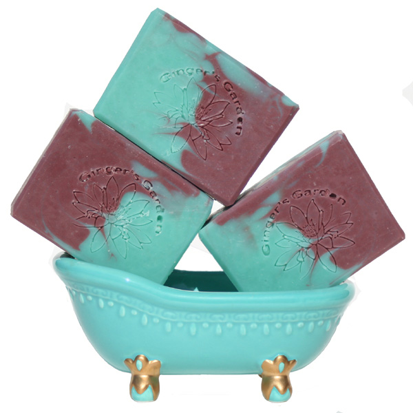 Pearberry Handmade Soap Green Pear Berry Juicy