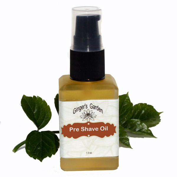 Pre Shave Lubricating Oil Unscented Natural for sensitive skin