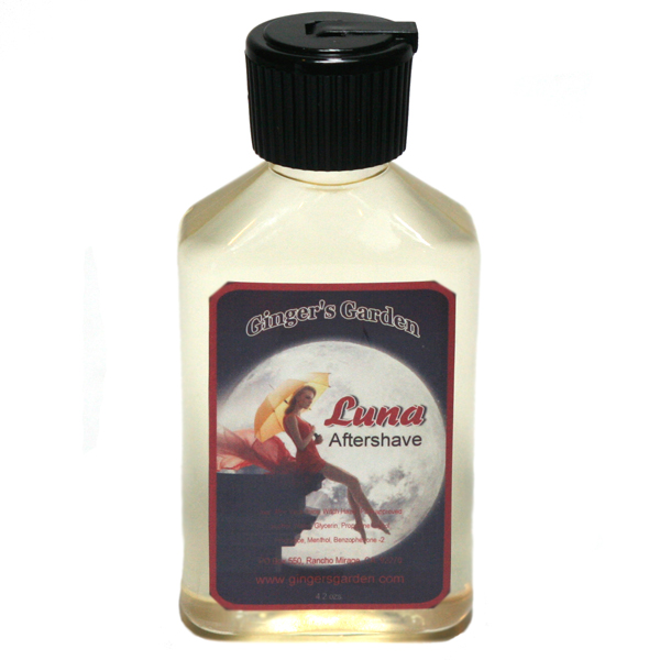 Luna aftershave grapefruit, fresh ocean, ozone, musk