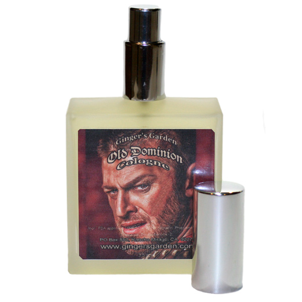 Gingers Garden Natural Cologne Spray for Men Old Dominion