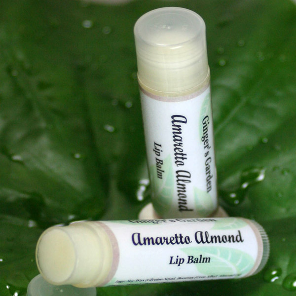 Natural Lip Balm Almond Amaretto