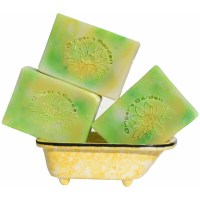 Handmade Soap Ginger Lime Bubbly Soda Pop Fizz