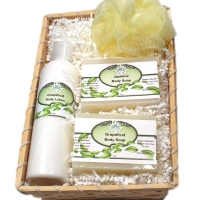 Artisan Gift Basket Bath Soap Body Lotion