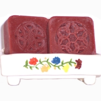 Handmade Scented Soap Celtic Red Cherry Shea Butter