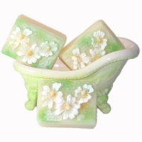 Handmade Natural Chamomile Botanical Soap