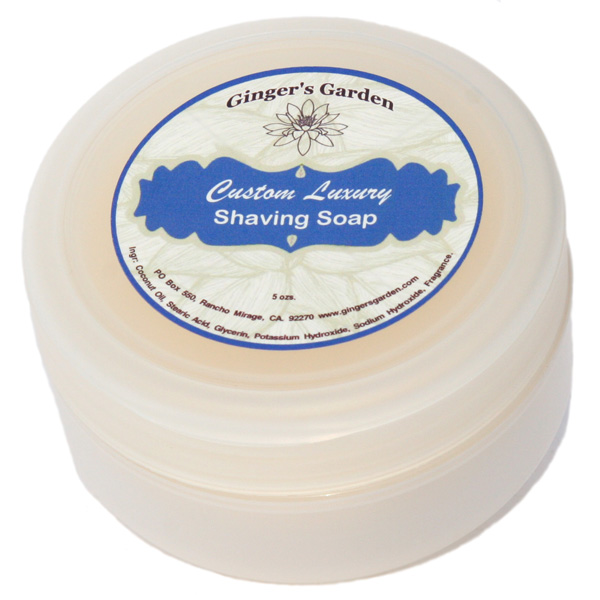 Custom Wet Shaving Natural Soap Scented - Tallow or Vegan
