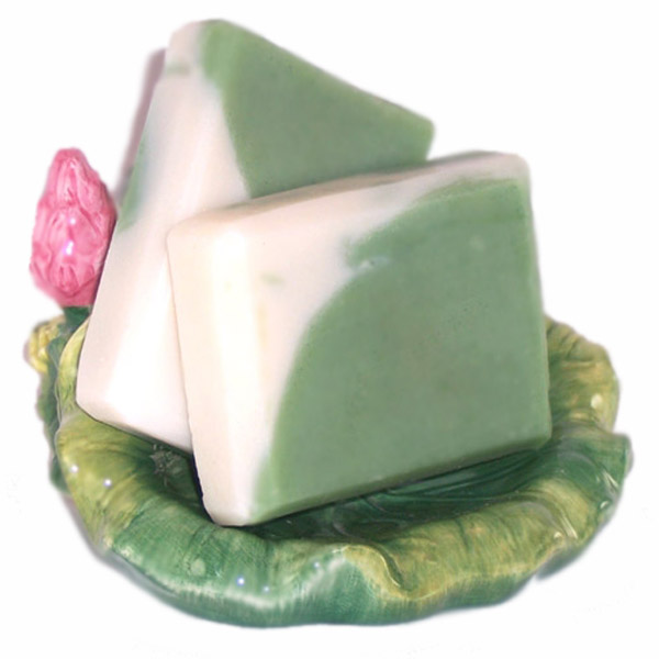 Handmade Soap Coconut Lime Natural Shea Butter